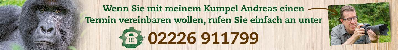 Rafiki-Silberrücken empfiehlt Andreas Klotz und TIPP 4